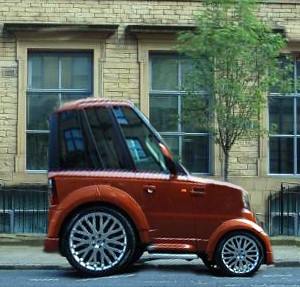 "Shortened Cars >> Range Rover 'Chelsea Tractor' ""Penny Racer"" 