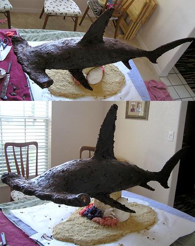 Hammerhead Shark Cake Pan