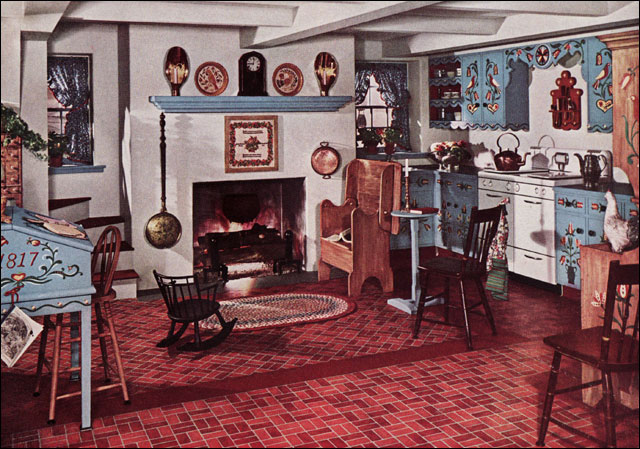 1942 Kitchen Armstrong Cork Co From Quot New Ideas For