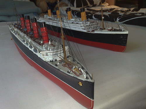 RMS Lusitania and RMS ...