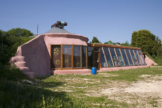 Brighton Earthship Front / Left Elevation | by Dominic's pics