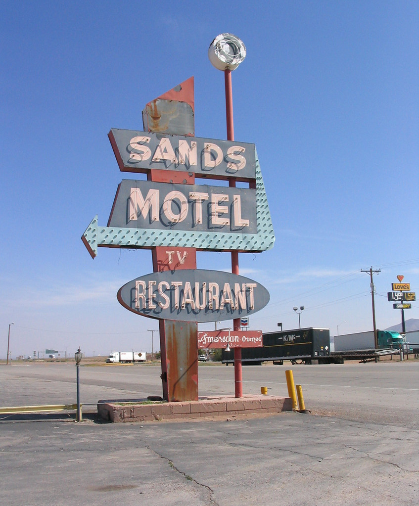 Sands Motel Old Spanish Trail Us 90 Van Horn Texas