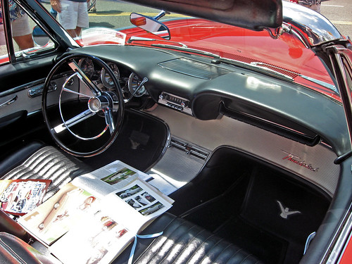 1962 Ford Thunderbird Sports Roadster Interior Flickr Photo Sharing