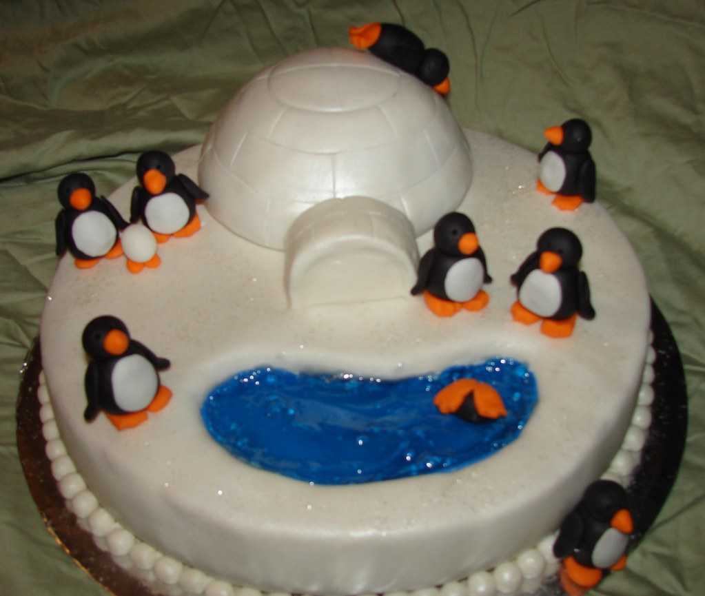 Penguin Cake Pan