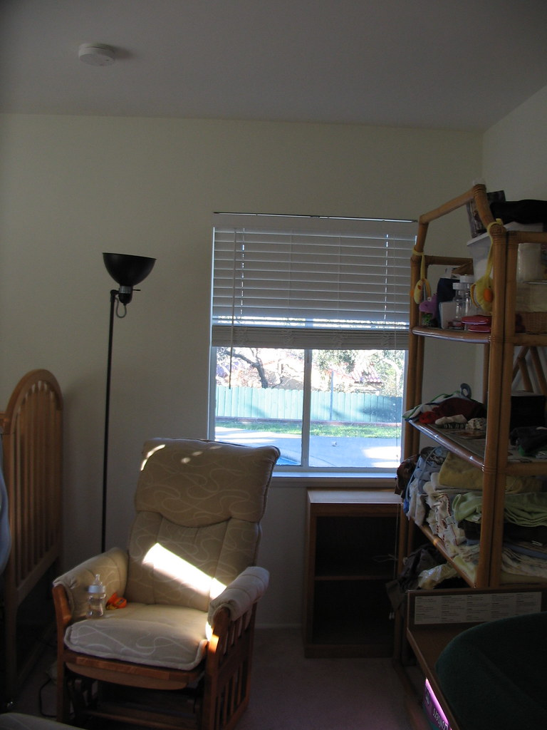 Shutters And Blinds In Garden Room
