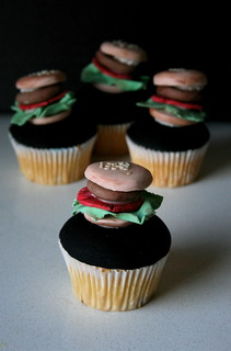 Iced hamburgers | by kylie lambert (Le Cupcake)