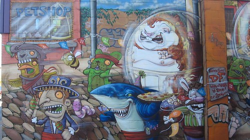 Pet Shop Mural | by KC-Bike