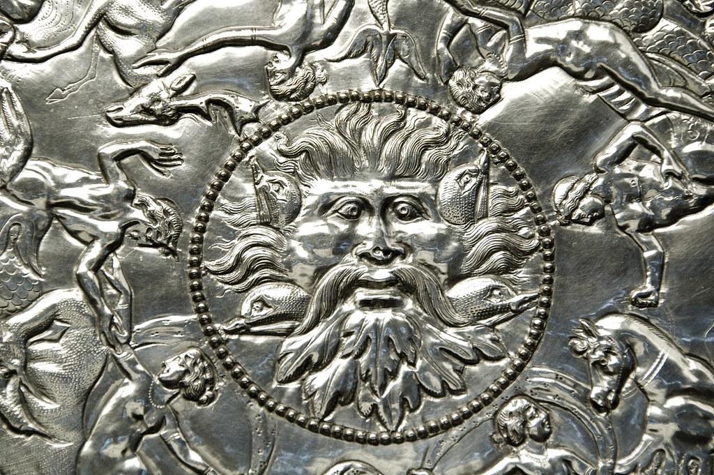 The Mildenhall Treasure Great Dish Detail Jon Himoff