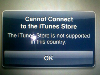 iTunes not available in your country | by byte