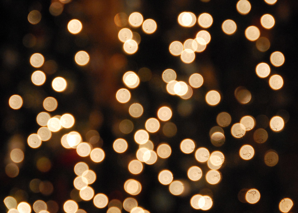 White Christmas lights bokeh | Hard to really get much of th… | Flickr