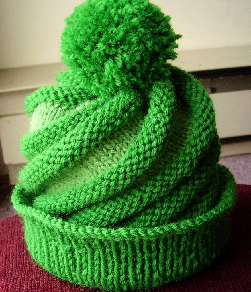 Swirled Ski Cap Swirled Ski Cap pattern from the Knitting ? Flickr