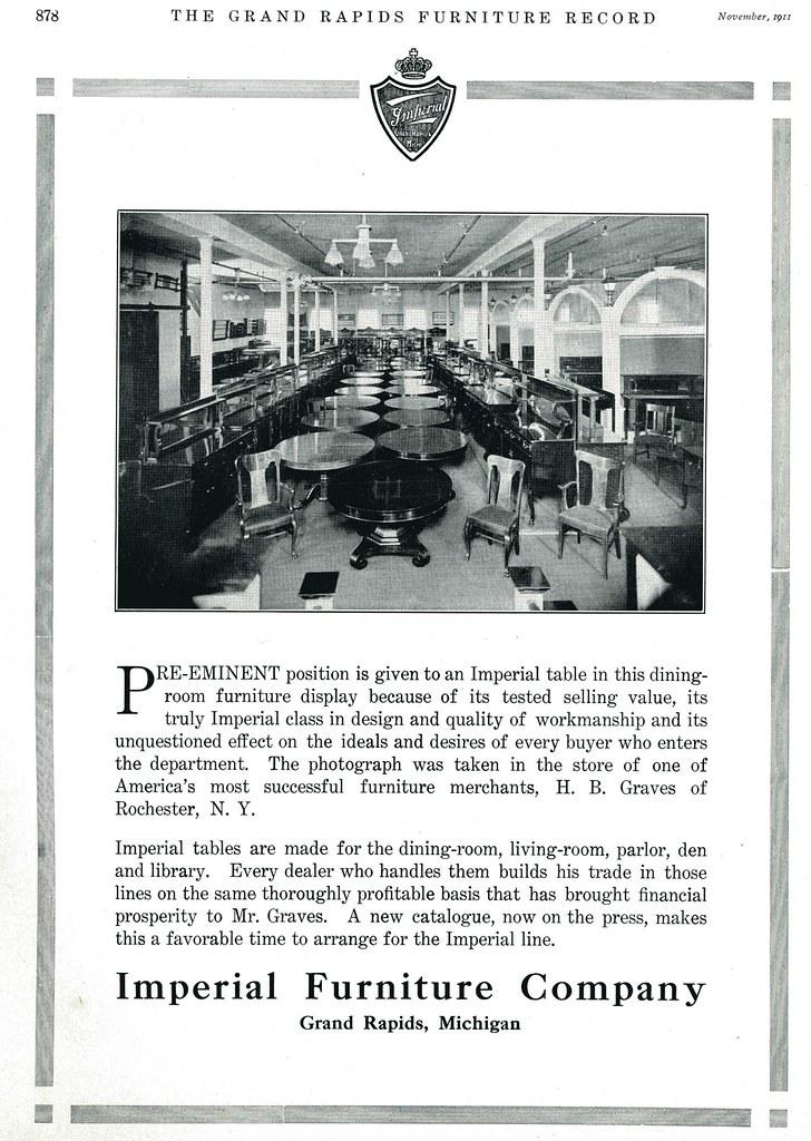 Grand Rapids Furniture Record 1911 Imperial Furniture Co Flickr