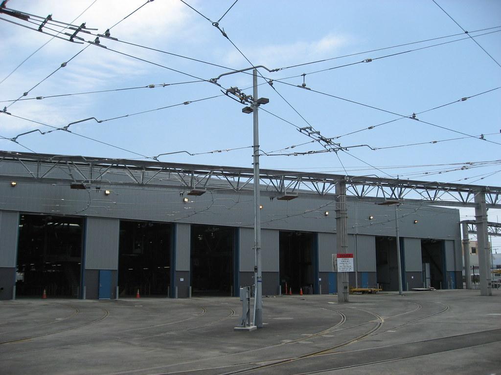 Muni Metro East Light Rail Maintenance and Operations Faci ...