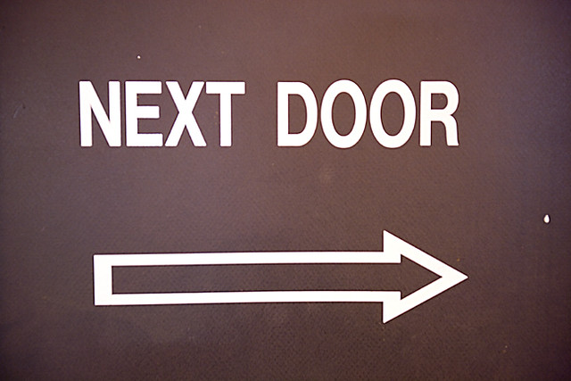& Next Door Arrow Sign | check out my website follow me on Fac\u2026 | Flickr Pezcame.Com