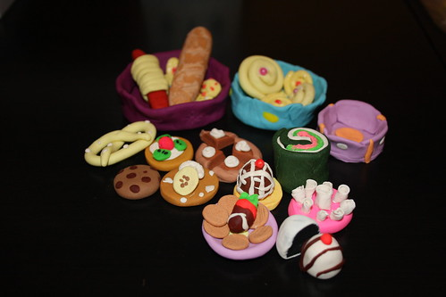 Mini food assortment flickr photo sharing for Play doh cuisine