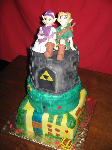 Zelda Wedding Cake | by EForkey (formerly EB Cakes)