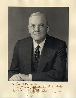 John Foster Dulles | by Wofford Archives