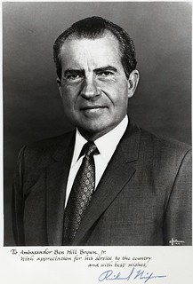 Richard M. Nixon | by Wofford Archives