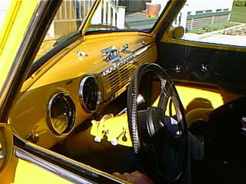 Bc99e02 1949 Chevy Truck Interior Kelowna 1999 Robert S