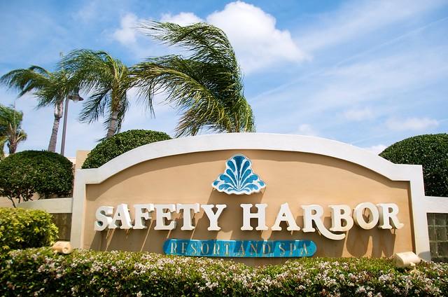 dsc 5372 safety harbor spa sign jeff juszczak flickr. Black Bedroom Furniture Sets. Home Design Ideas