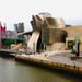 Tilt shift Guggenheim museum, Bilbao