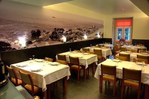 Restaurante Decorado Com Fotografia De Grandes Dimens Es