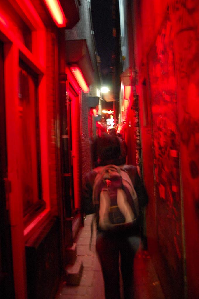 Red Zone in Amsterdam   Desde su aceptación como una forma