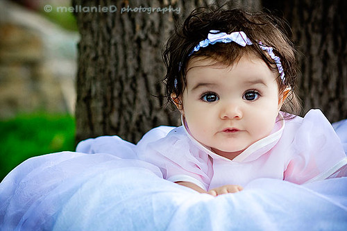 brown eyed baby girl | she was so sweet! | Melly.Mell | Flickr