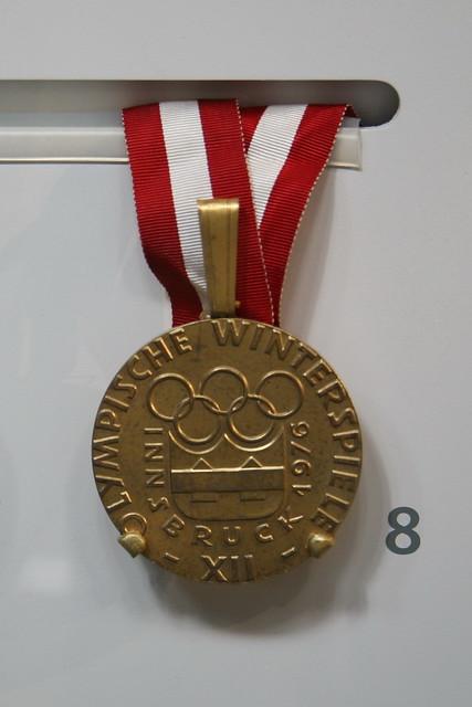 1976 Innsbruck Olympic Winter Games Gold Medal Dorothy H Flickr