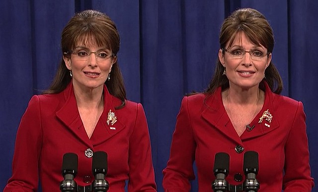 Tina fey sarah palin side by side on snl full i was wa flickr tina fey sarah palin side by side on snl by taraliveson altavistaventures Images