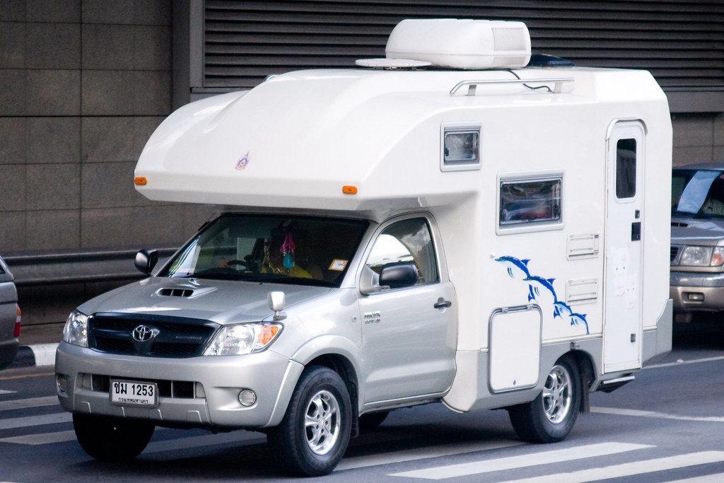 Toyota Motor Caravan Rv In Bangkok Unusual To See A