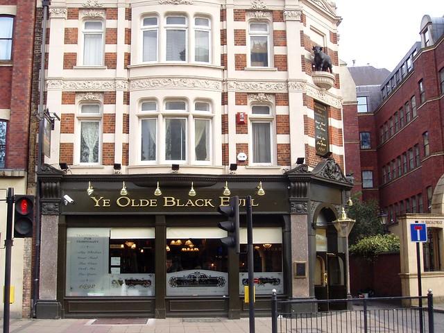 Ye Olde Black Bull Stratford E15 Old Fashioned Pub