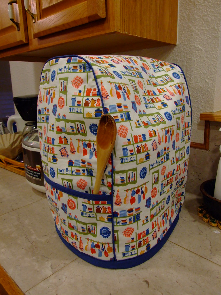 Kitchenaid Mixer Cover Side Using This Pattern With