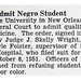 Louisiana State University School of Medicine Ordered to Admit Qualified Black Students - Jet Magazine April 10, 1952