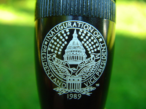 George H Bush Inaugural Maglite 1989 | by DieselDucy