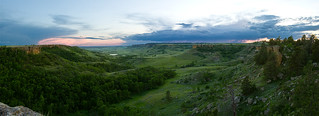 Cave Hills Pano 1 | by DanFroistad