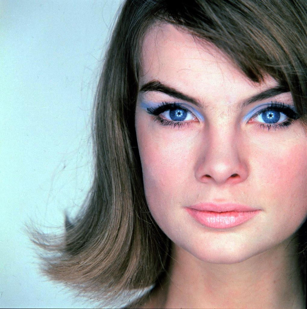 1960 S Jean Shrimpton Hq So You Can See The Makeup Good