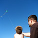 Kite flying lesson