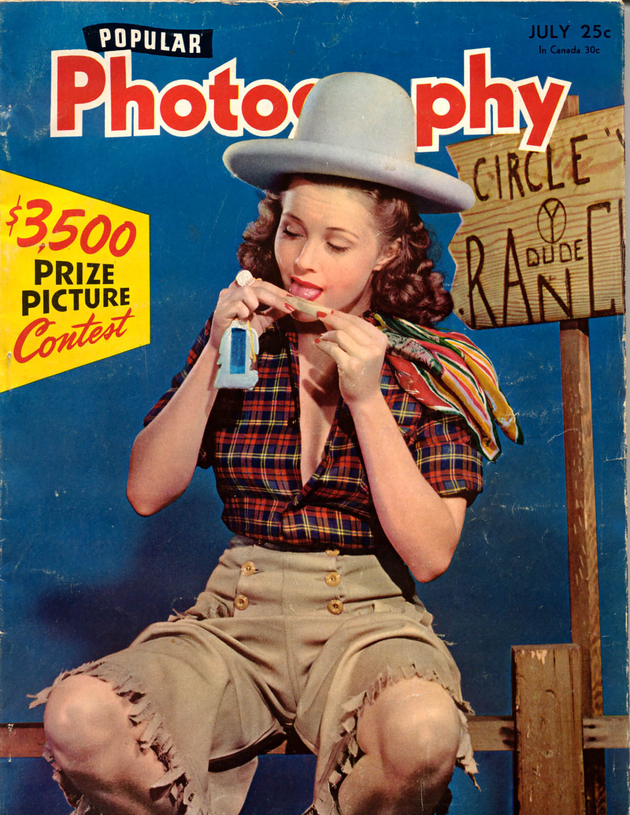 Popular Photography - July 1942