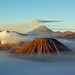 A warmer look at the Bromo-Tengger-Semeru National Park volcanoes