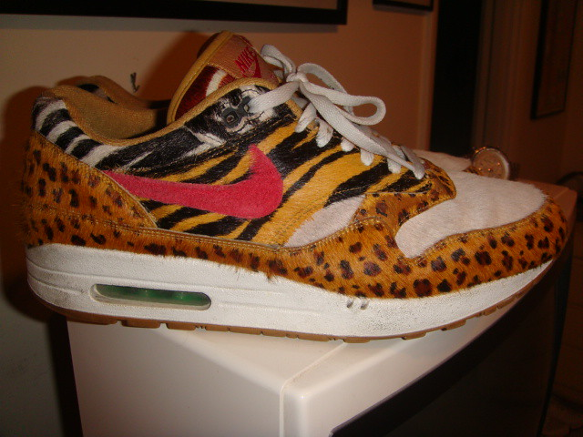 13ee46d7de68f9 ... new zealand nike air max 1 supreme atmos safari animal pack wheat sport  red bison 38d14