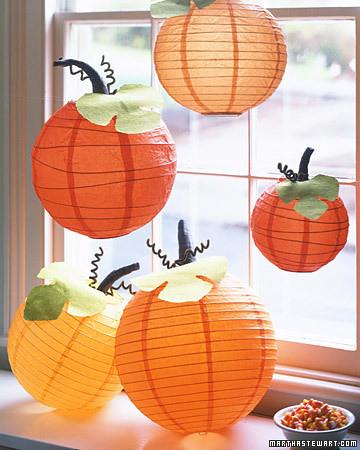 Jesienne dekoracje okna flickr - Decoration halloween a fabriquer ...