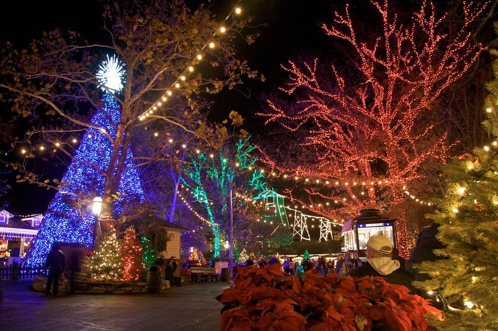 Silver dollar city christmas lights jay parker flickr