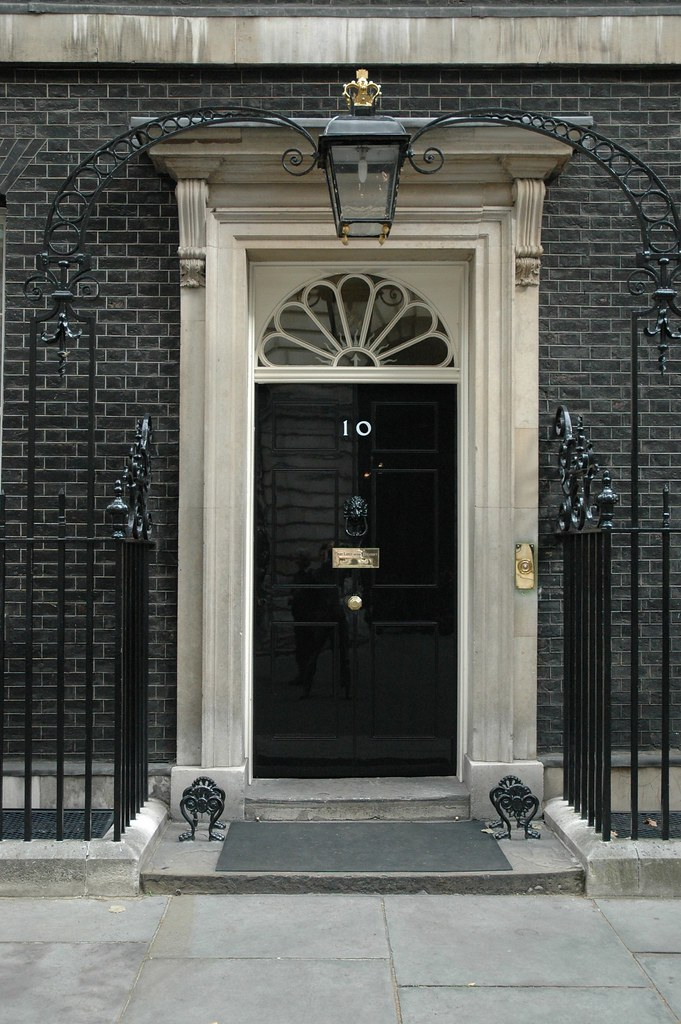 Number 10 Door High Res A High Resolution Image Of The