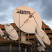 DSC02244 - BBC Satellite Dishes - Parabolic Antennas - BBC Television Centre - Broadcast Station (London)