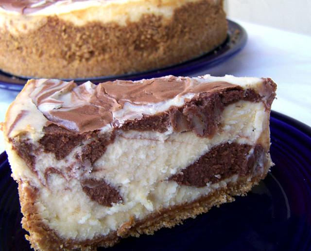 Black and White Chocolate Cheesecake Supreme | Recipe | Emily Carlin ...