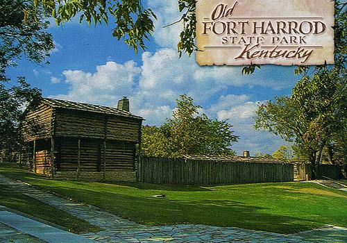 Old Fort Harrod State Park Harrodsburg Ky Karyn