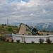 Restos de telescopio quemado en Obs. de Mt Stromlo