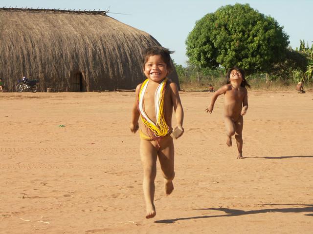 Crianas Do Xingu  Uma Das Minhas Melhores Fotos, Na -4815