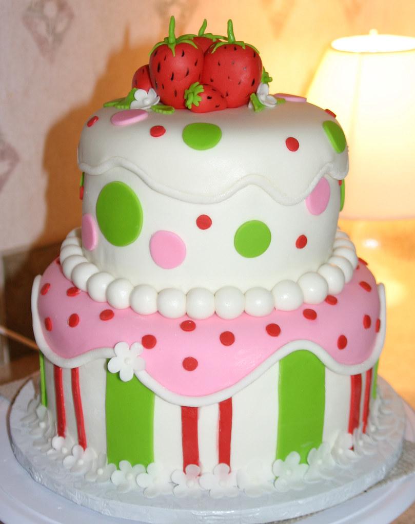 Images Of Strawberry Shortcake Cake : Strawberry Shortcake Cake 1 8